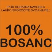 100 %  ( 24 X 11 ) cm