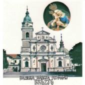 34B Bazilika brezje  (12,5 x 16 cm)