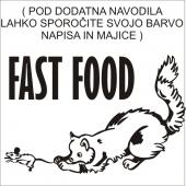 FAST FOOD  ( 22 x 18 cm)