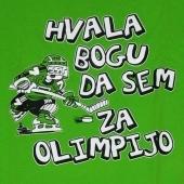 Hvala bogu da sem za olimpijo ( 28 x  24 ) cm