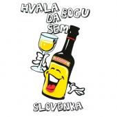 Hvala bogu da sem slovenka ( 20,5 x  31 ) cm