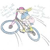 Punca na kolesu ( 21 x 22 cm.)