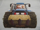 Traktor   17 x 19 cm )