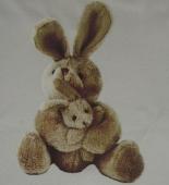 Zajec  ( 22 X 16 cm )