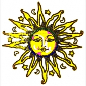 Zlato sonce (15 x 15 cm.)