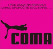 COMA ( 24 x 12 cm.)