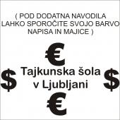 TAJKUNSKA ŠOLA ( 20  x 12  ) cm