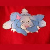 Zajček ( 11,5 x 7,5 cm )