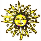 Zlato sonce  ( 15  x 15 cm )
