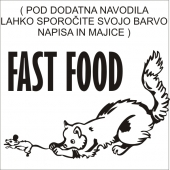 FAST FOOD ( 15 x 9 cm.)